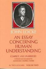 An Essay Concerning Human Understanding, Vol. 2 (Dover Books on Wester-ExLibrary
