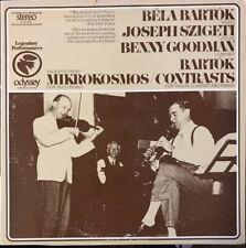 LP: BARTOK Mikrokosmos SZIGETI BENNY GOODMAN VG+