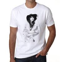 Carly Rae Jepsen t shirt homme, Manches Courtes, Coton blanc cadeau