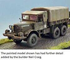 Milicast US131T 1/76 Resin WWII USA Mack N02 7.5ton 6x6 Prime Mover w/Full Tilt