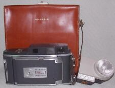 Vintage Polaroid Electric Eye 900 Folding Land Camera in Case with Wink Light