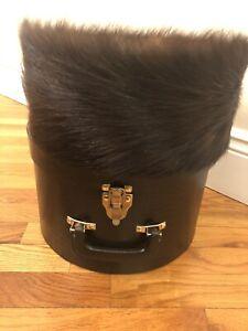 Orthodox Jewish fur hat Hasidic Shtreimel Authentic Real Fur with box Sabbath