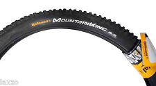 Continental Mountain King II MTB Tyre 26 Inch x 2.2 Clincher Tubular Tire Black