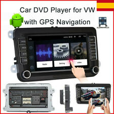 Autoradio 2DIN Android 8.1 GPS Navi Bluetooth für VW GOLF 5 PASSAT POLO Caddy