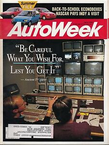 Autoweek--July 6 1992 Be Careful What You Wish For-----260