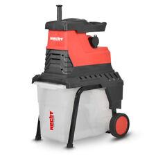 Hecht 6288 XL Elektro Gartenhäcksler Walzenhäcksler Schredder Kompostierer 2800W