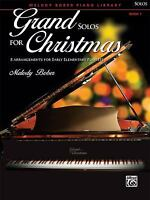 Grand Solos for Christmas, Bk 1 : 8 Arrangements for Early Elementary Pianists
