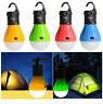 4 x Aussen Hängelampe mit je 3 LED's Camping Zelt Glühbirne Angeln Laterne Nacht