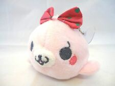 Pink Baby Harp Seal Soft Plush Stuffed Animal With Suction Cup  NEW
