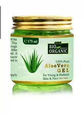 6 Pack Indus Valley Organic Aloe Vera Gel For Acne,Scars And Glowing Skin-175 Ml