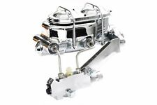 Chevy Chrome Aluminum Corvette Master Cylinder w/ Proportioning Valve