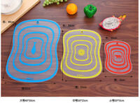 Flexible Fruit Vegetable Meat Food Cutting Chopping Board Mat Kitchen Tool Set