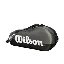 Wilson Tennis Racquet Bag Team 1 Compartment up to 3 Racquets WRZ854903