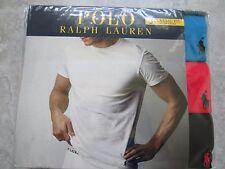 POLO RALPH LAUREN 3 PACK CLASSIC COTTON TSHIRTS NWT