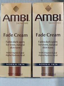 AMBI Fade Cream 2oz 03/2021exp  lot of 2