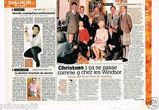 Coupure de Presse Clipping 1997 (1 page 1/3) Noel chez les Windsor