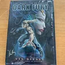 The Chronicles of Riddick - Dark Fury (Dvd, 2004) Peter Chung Of Aeon Flux