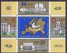 Hungary 1980 European Security & Cooperation MS UM SGMS3347 Cat £3.25