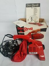 Royal Dirt Devil Handy 150 Powerful Lightweigh Vacuum Cleaner Manual Made In USA