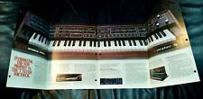 Sequential Circuits Prophet T8 brochure, 8 pages, full color, 1983, semigloss