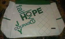 New w/o Tags Miche Prima Big Bag Shell HOPE GREEN ARGYLE! RARE Comb s+h