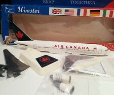 Wooster 488 Air Canada 1/200 scale Boeing 767-200 C-GAUS Plastic model plane