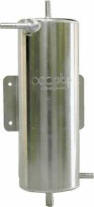 OBP 1.5 Ltr Alliage Carburant Tourbillon Pot 220 (H) X 100mm (Dia) Cloison Mont