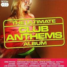 Various Artists : The Ultimate Club Anthems Album CD (2008)