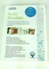 Creative Memories Digital Content Collection CD Software Rustic Simplicity