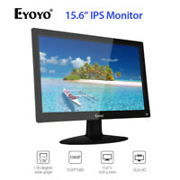 "15.6"" Inch IPS HDMI Monitor AV/VGA/BNC/USB input Build-in Speaker Multi-language"