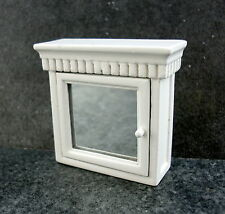 Dolls House Miniature 1:12 Scale Bathroom Accessory Medicine Cabinet Mirror Door