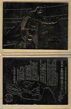 Star Wars Darth Vader 23 KT Karat Gold Card Sculptured