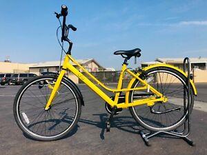 "OFO Cruiser City Bike 26"" Step Through Aluminum Bicycle W/ light lock"