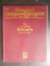 """Manuel """"AD&D TSR - 2nd Edition - the complete priest's handbook"""" 1990"""