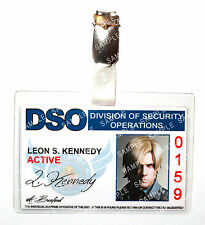 Resident Evil Leon S Kennedy ID Badge DSO Zombie Cosplay Costume Prop Comic Con
