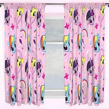 """MY LITTLE PONY EQUESTRIA CURTAINS 66"""" X 54"""" CURTAINS KIDS BEDROOM OFFICIAL NEW"""