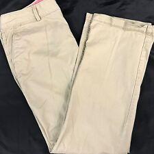 Dockers Womens Pants Size 8 Short Straight Leg Stretch Khaki Inseam 29