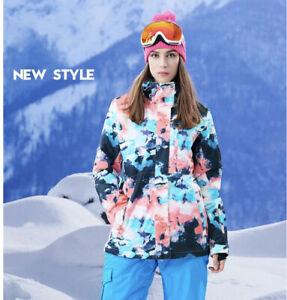 GSOU SNOW New Style Snowboarding/ski Jacket Colorful Women's Size XS
