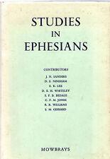 "F.L.CROSS (Editor) - ""STUDIES IN EPHESIANS"" - A.R.MOWBRAY 1st  Edn HB/DW (1956)"
