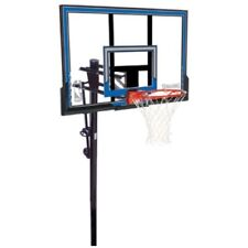 Spalding In-Ground Basketball System 88349 50-inch Polycarbonate Backboard Goal