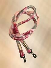 NEW Peach & Pink Retro Floral Sunglasses / Glasses Neck Cord Strap