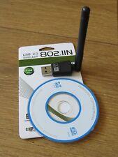 Adaptateur USB WiFi AC600 Dual Band Dongle Sans Fil Carte Réseau 150 Mbps