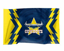 Official NRL North Queensland Cowboys Game Day Flag (NO STICK/FLAG POLE)