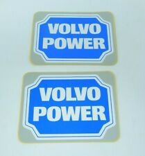 Vintage Volvo Power Sport Racing Decals Stickers Window Emblems Car Logo
