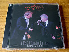 CD Album: Air Supply : It Was 30 years Ago Today : Live Ontario 2004 Sealed
