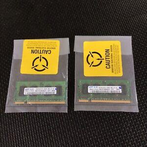 Samsung 2GB Kit)  2X 1GB DDR2 PC2-6400S 2Rx16 LAPTOP MEMORY RAM