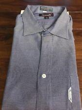 Men's Faconnable Blue/white Button Down Shirt- Size 7 (17 1/2R)