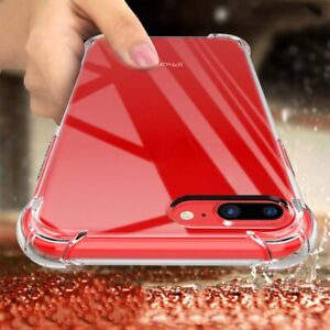 Anti-Shock TPU Silicone Protective Case Cover For iPhone XS MAX XR 8 6 7 Plus Sl