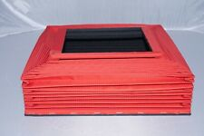 8x10 Deardorff Late Model Nylon Replacement Bellows in Red with Frames for V8.