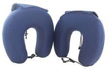 2 Memory Foam Super Comfortable Travel Pillows, Compact, Foldable, Storage Bag